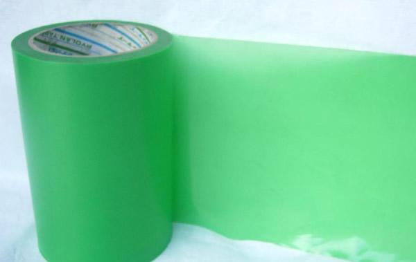 绿色易撕胶带养生胶带该胶黏带以pe和pet为基材,进口耐温树脂为涂层